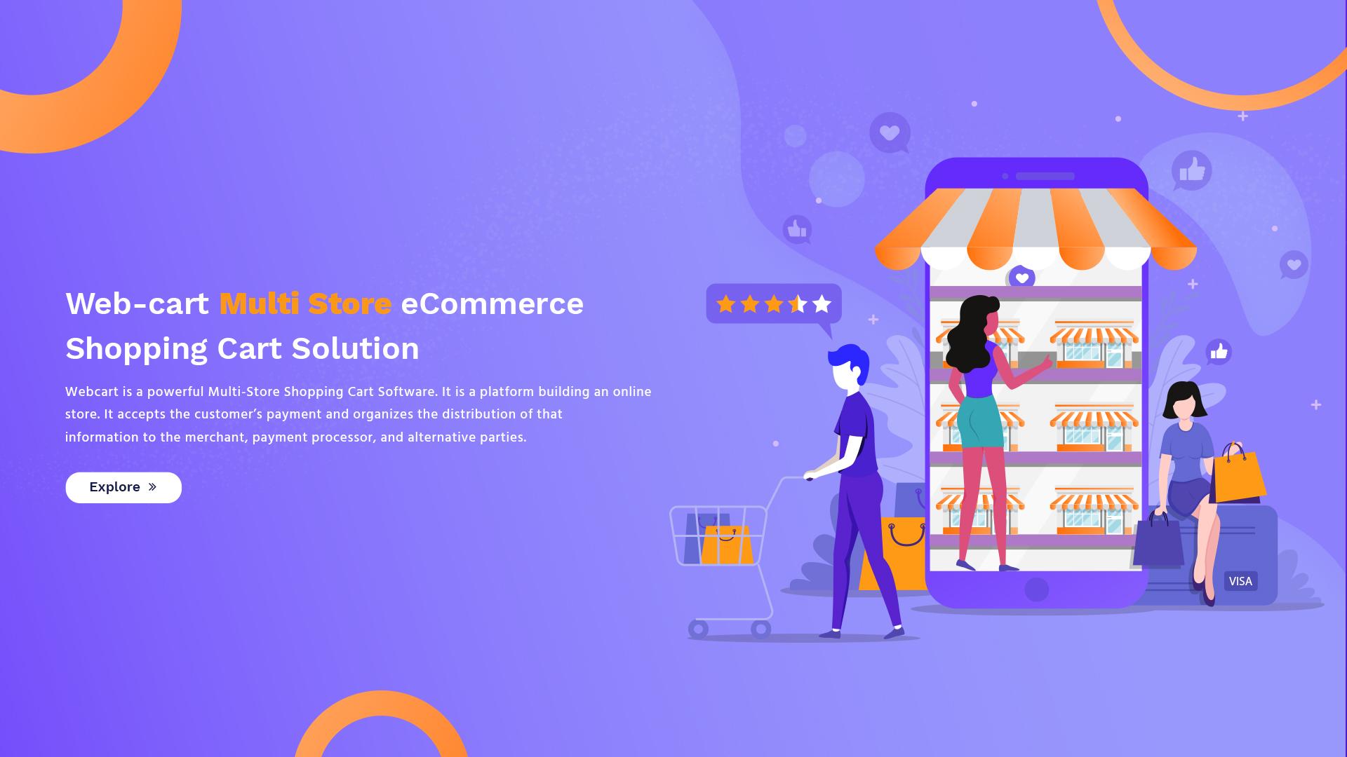 Webcart - eCommerce Shopping Cart Software   Online Shopping System