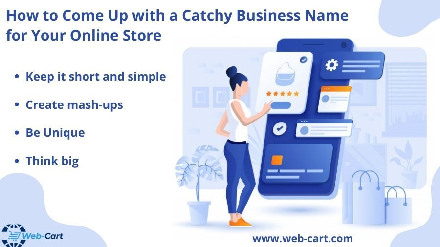 How to Come Up with a Catchy Business Name for Your Online Store