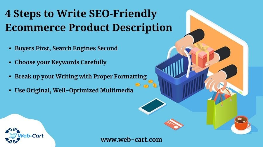 4 Steps to Write SEO-Friendly eCommerce Product Description