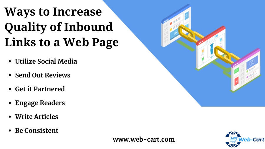 Ways to Increase Quality of Inbound Links to a Web Page