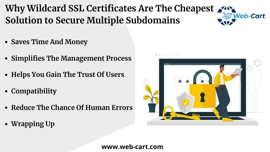 Why Wildcard SSL Certificates Are The Cheapest Solution to Secure Multiple Subdomains