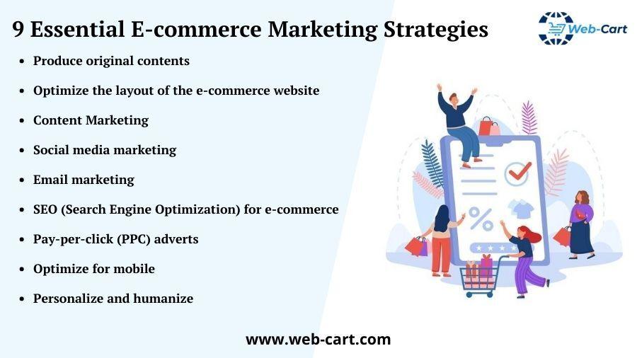 9 Essential E-commerce Marketing Strategies