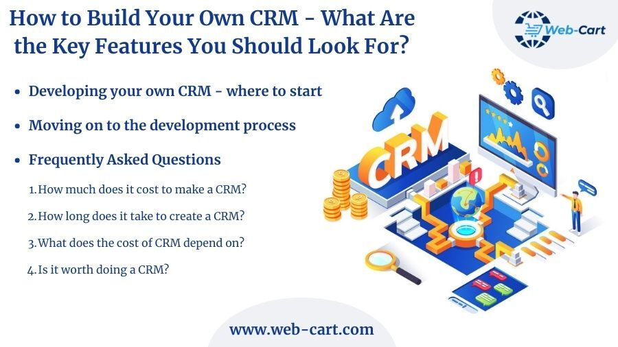How to Build Your Own CRM – What Are the Key Features You Should Look For?